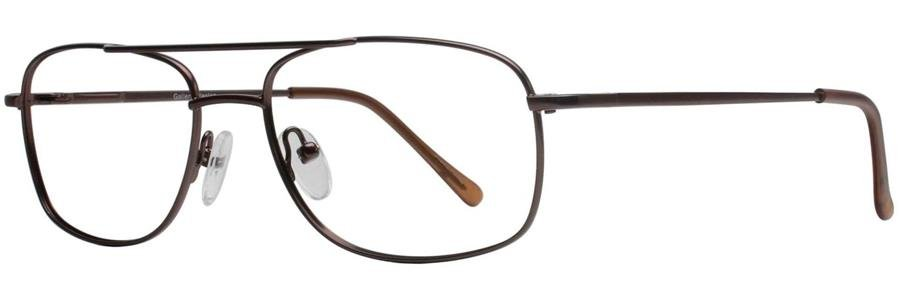 Gallery WESTON Brown Eyeglasses Size55-17-135.00