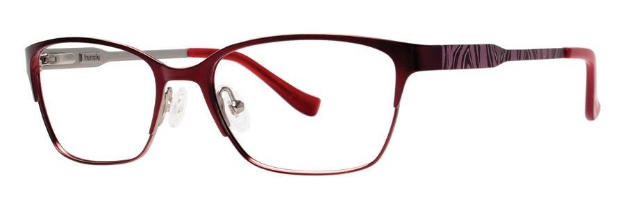 kensie WILD Burgundy Eyeglasses Size52-16-140.00