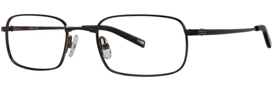 Timex X001 Black Eyeglasses Size52-19-145.00