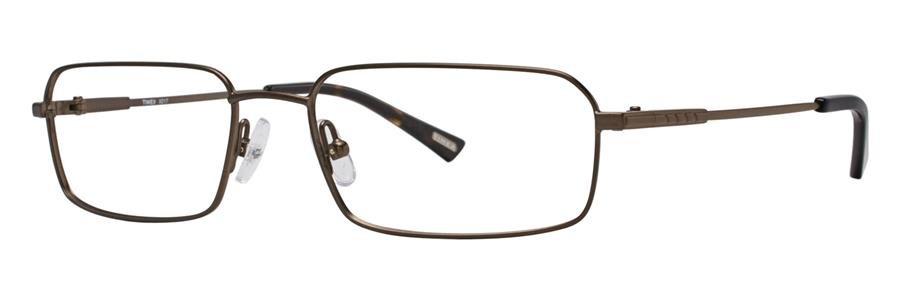 Timex X017 Brown Eyeglasses Size53-17-135.00