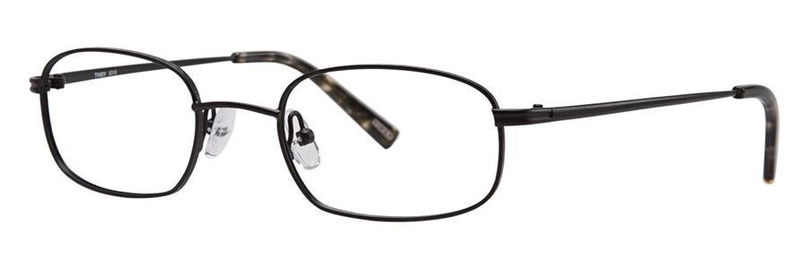 Timex X018 Black Eyeglasses Size47-20-135.00