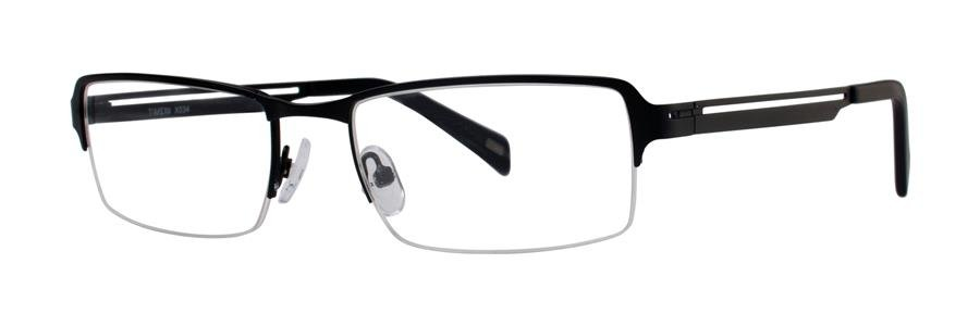 Timex X034 Black Eyeglasses Size52-18-140.00
