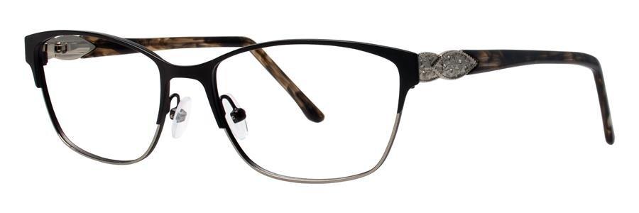 Dana Buchman YEVON Black Eyeglasses Size52-16-135.00