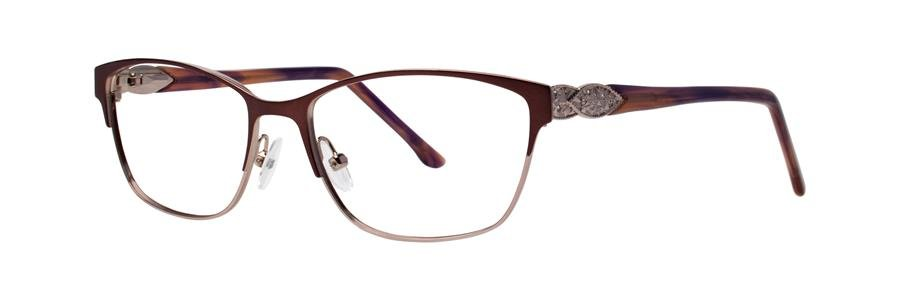Dana Buchman YEVON Burgundy Eyeglasses Size52-16-135.00