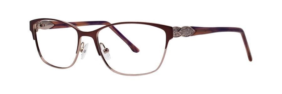 Dana Buchman YEVON Burgundy Eyeglasses Size54-16-135.00