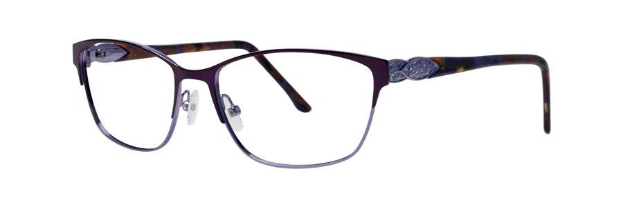 Dana Buchman YEVON Plum Eyeglasses Size54-16-135.00