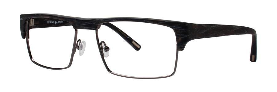 Jhane Barnes YPSILON Charcoal Eyeglasses Size55-17-135.00