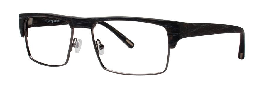Jhane Barnes YPSILON Charcoal Eyeglasses Size57-17-140.00