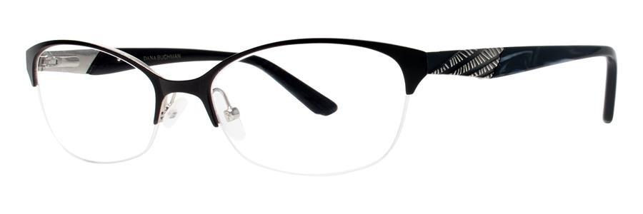 Dana Buchman ZELLA Black Eyeglasses Size53-17-135.00