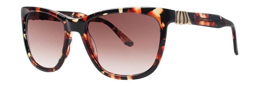 Dana Buchman ZEVA Crimson Tortoise Sunglasses Size53-18-135.00
