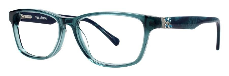 Vera Wang ZIPPORAH Emerald Eyeglasses Size51-15-132.00