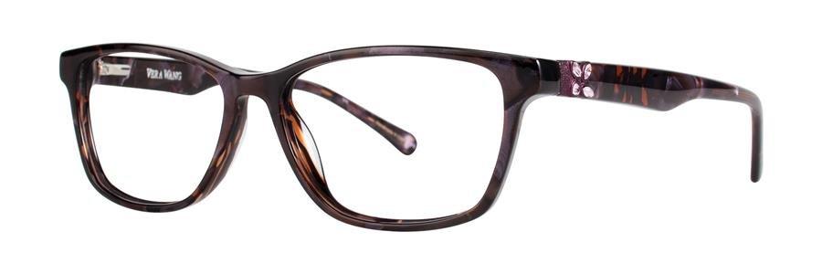 Vera Wang ZIPPORAH Wine Eyeglasses Size53-15-135.00