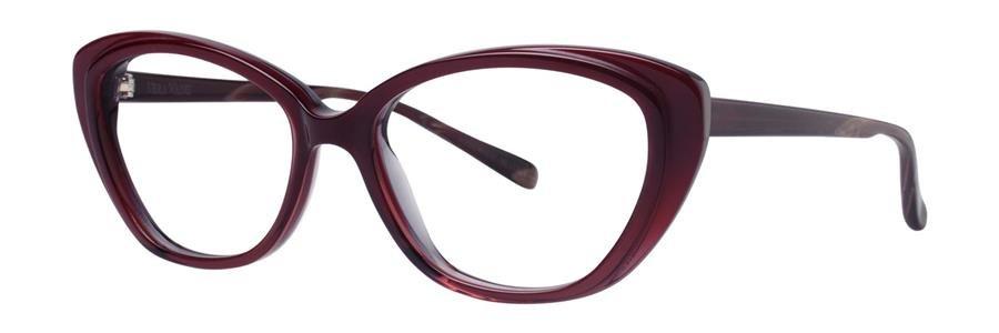 Vera Wang ZLATA 04 Burgundy Eyeglasses Size53-15-140.00