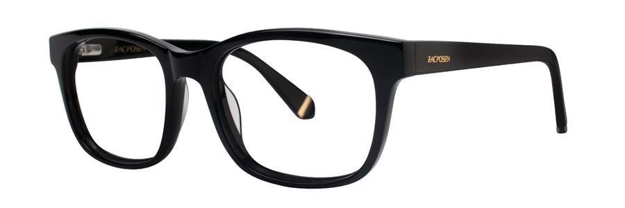 Zac Posen ZORA Black Eyeglasses Size53--135.00