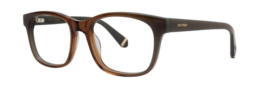 Zac Posen ZORA Brown Eyeglasses Size53-18-135.00