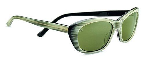 Serengeti Bagheria Creme Stripe  Sunglasses