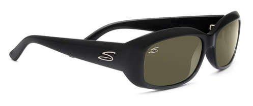 Serengeti Bianca Shiny Black  Sunglasses