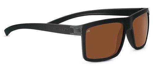 Serengeti Brera Sanded Black  Sunglasses