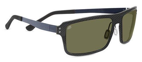 Serengeti Duccio Shiny Carbon  Sunglasses