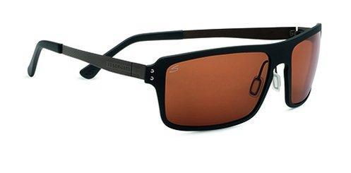 Serengeti Duccio Satin Black  Sunglasses