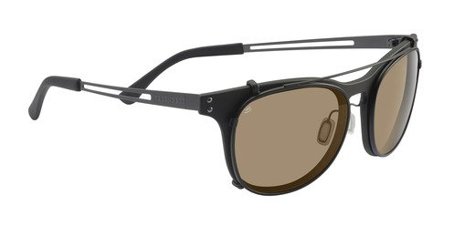 Serengeti Enzo Satin Black  Sunglasses