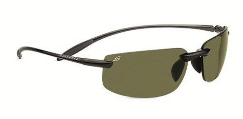 Serengeti Lipari Shiny Hematite  Sunglasses