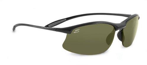 Serengeti Maestrale Shiny Black  Sunglasses