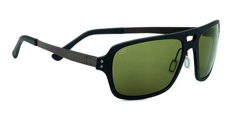 Serengeti Nunzio Satin Black  Sunglasses