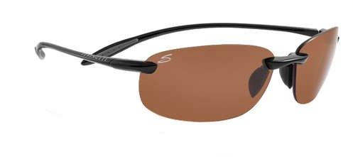 Serengeti Nuvino Shiny Black  Sunglasses