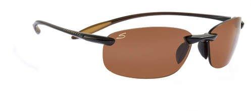 Serengeti Nuvola Shiny Brown  Sunglasses