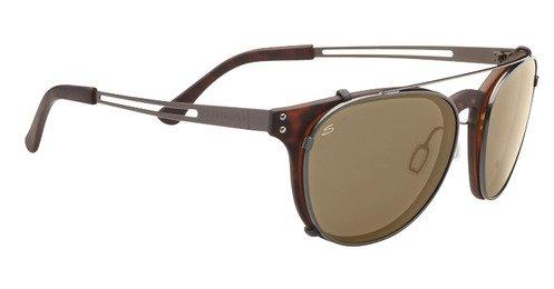 Serengeti Palmiro Shiny Dark  Sunglasses
