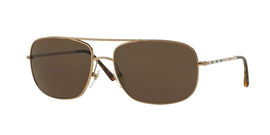 Burberry 0BE3077 Gold Sunglasses