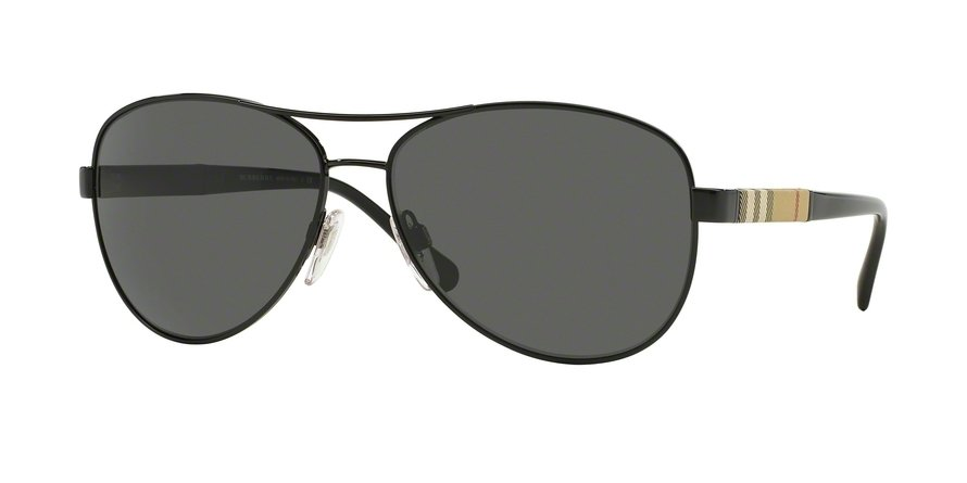 Burberry 0BE3080 Black Sunglasses