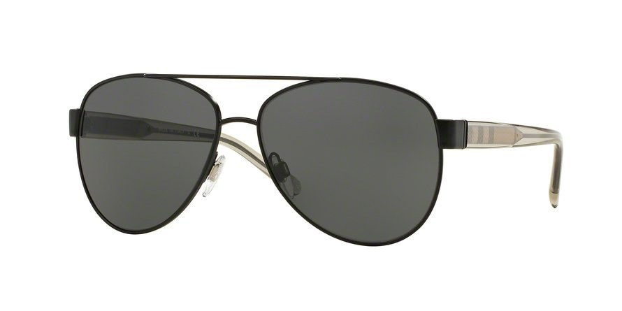 Burberry 0BE3084 Black Sunglasses