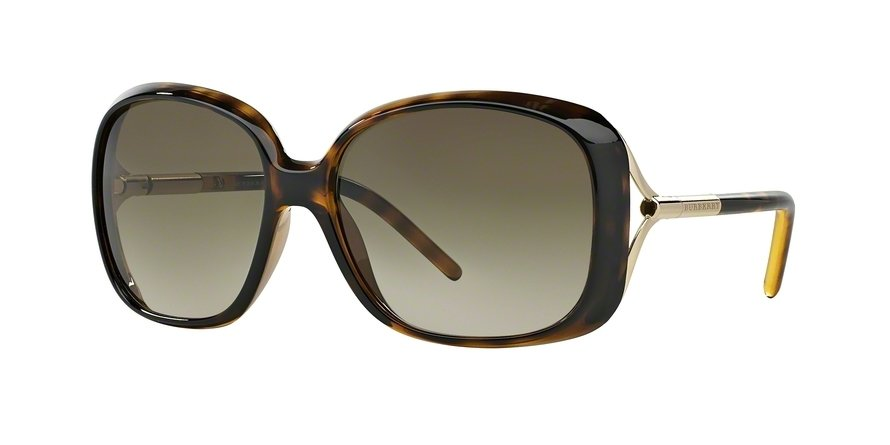 Burberry 0BE4068 Havana Sunglasses
