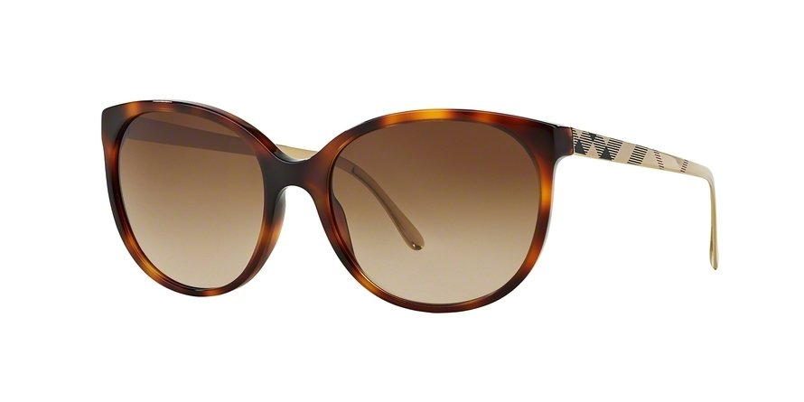 Burberry 0BE4146 Havana Sunglasses