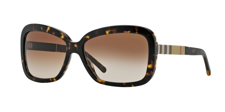 Burberry 0BE4173 Havana Sunglasses