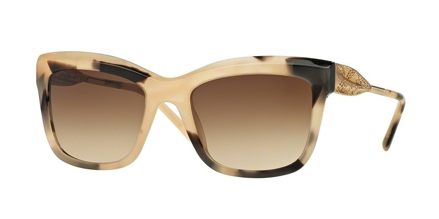 Burberry 0BE4207 Light Brown Sunglasses