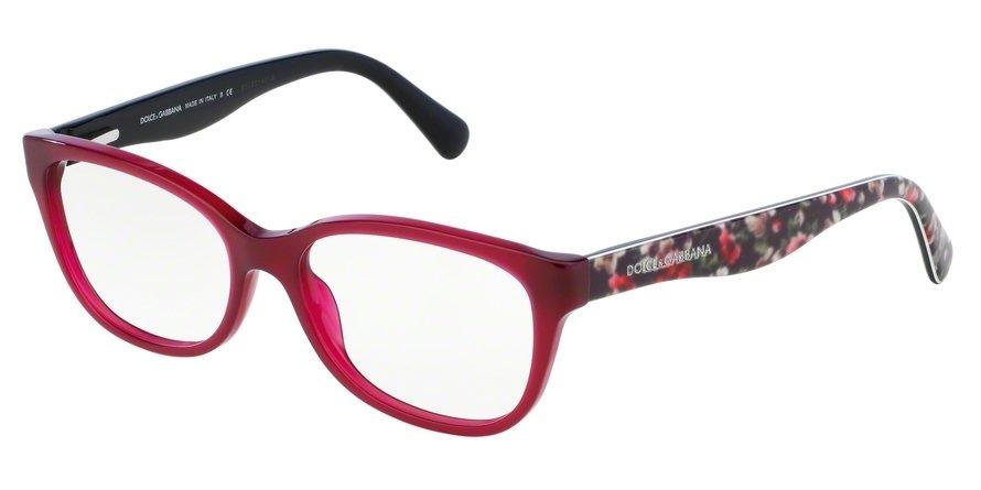 Dolce & Gabbana 0DG3136 Bordeaux Eyeglasses