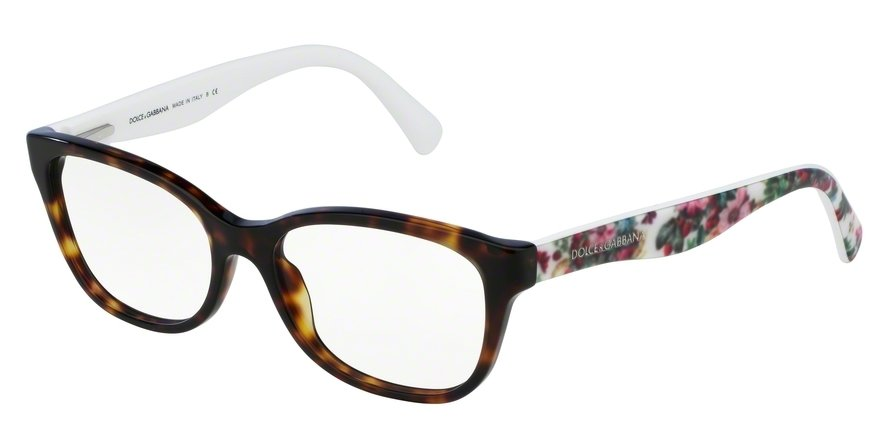 Dolce & Gabbana 0DG3136 Havana Eyeglasses
