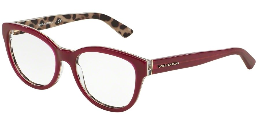 Dolce & Gabbana 0DG3209 Bordeaux Eyeglasses