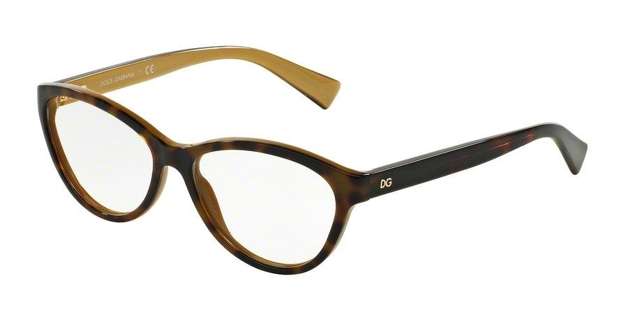Dolce & Gabbana 0DG3232F Havana Eyeglasses