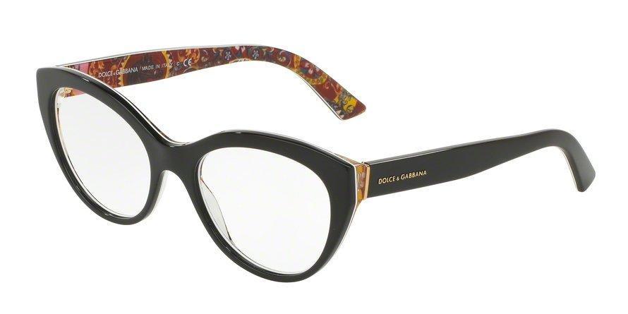 Dolce & Gabbana 0DG3246 TOP BLACKHANDCART Eyeglasses