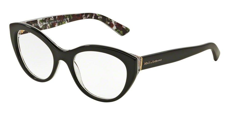Dolce & Gabbana 0DG3246F Black Eyeglasses
