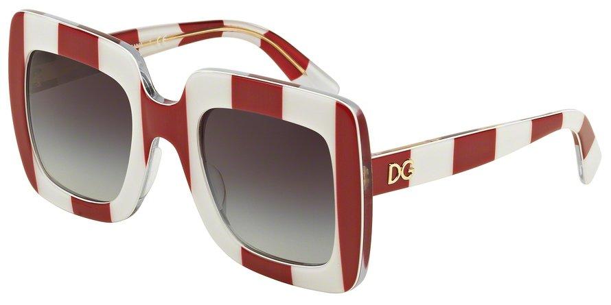 Dolce & Gabbana 0DG4263 STRIPE REDWHITE Sunglasses