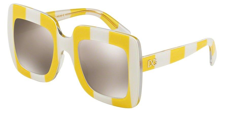Dolce & Gabbana 0DG4263 STRIPE YELLOWWHITE Sunglasses