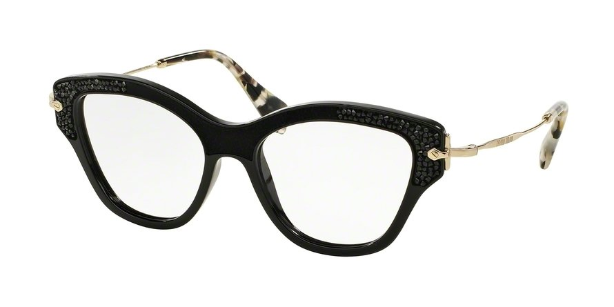 MU 0MU 07OV Black Eyeglasses