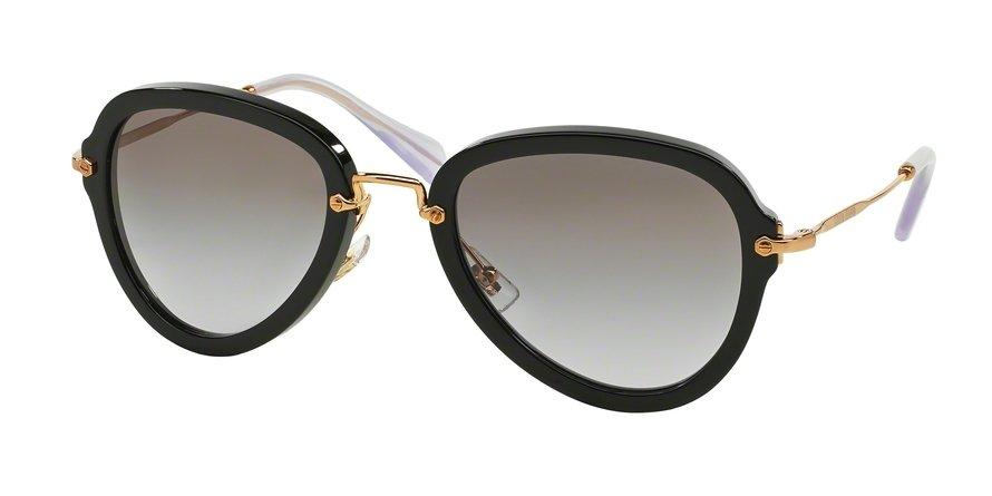 MU 0MU 03QS Black Sunglasses
