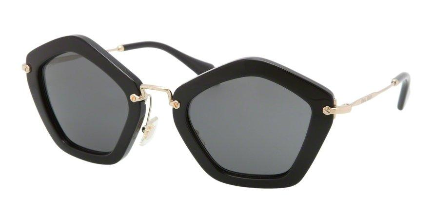 MU 0MU 06OS Black Sunglasses