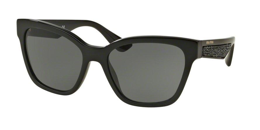 MU 0MU 06RSA Black Sunglasses